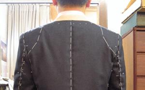 仮縫いとフィッティング