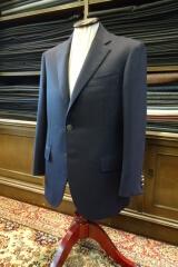 紺色のオーダージャケットの画像