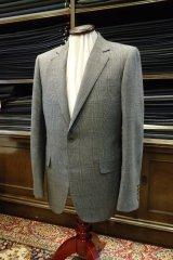 伝統のチェック柄でオーダースーツの画像