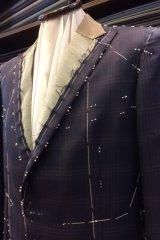 仮縫い状態のジャケットの画像