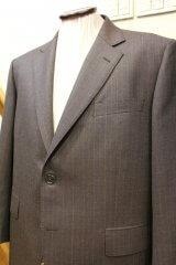 ゼニア ブラウンのオーダースーツの画像