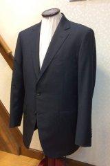 ZEGNA(ゼニア)チャコールグレーのオーダースーツの画像